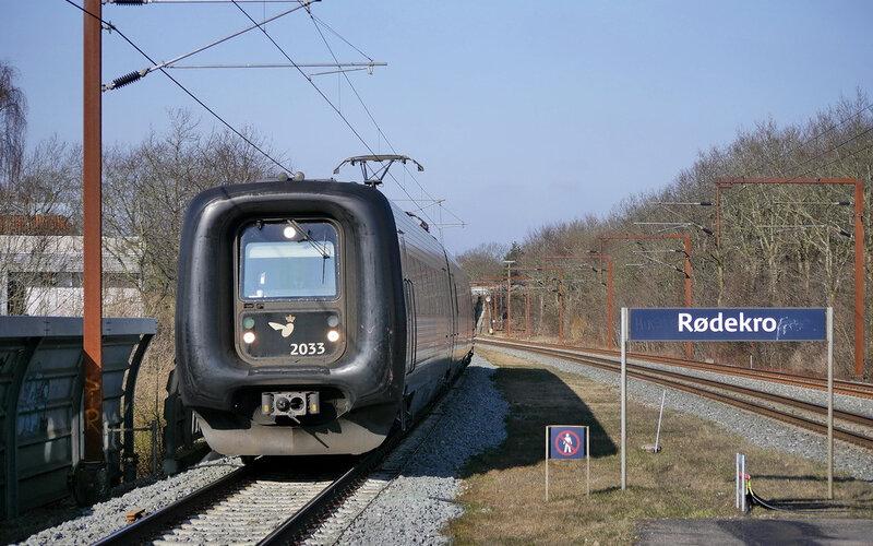 InterCityLyn Denmark | Trains in Denmark | Train arriving in the station