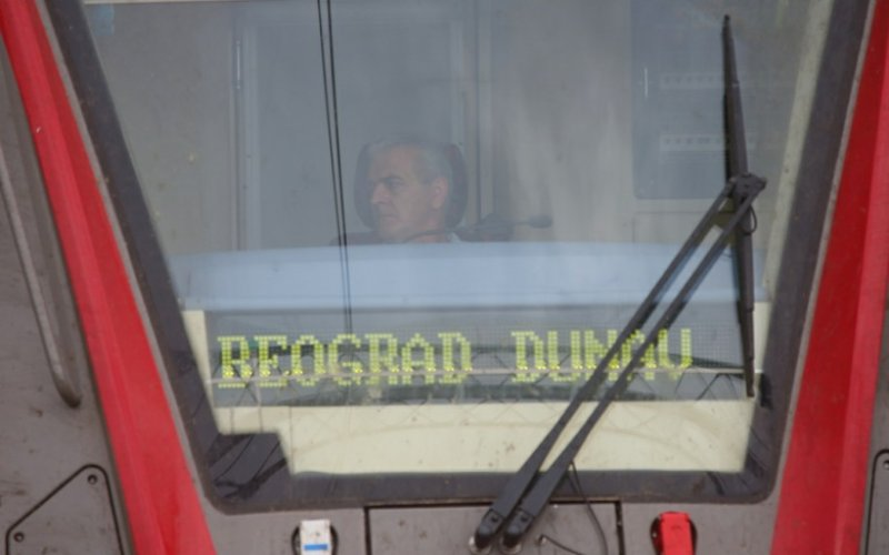 InterCity Serbia | Trains in Serbia | Train driver on his way to Belgrade