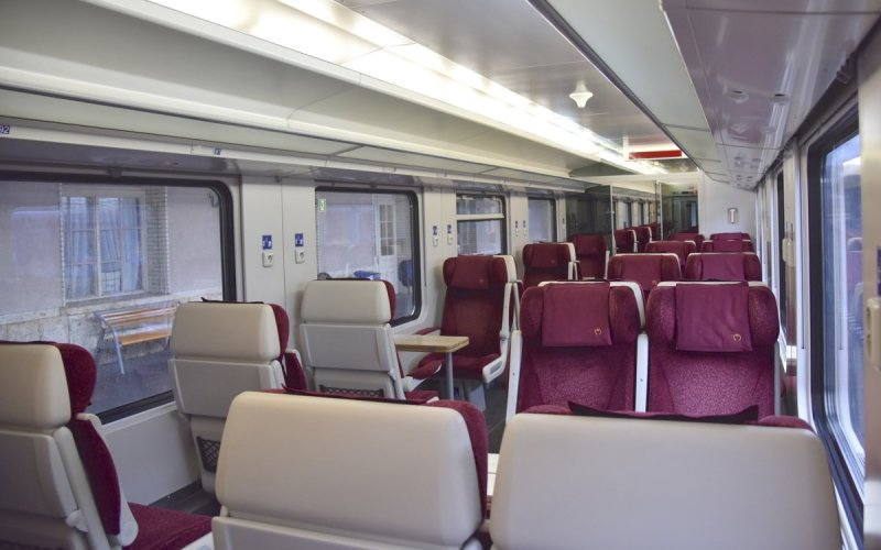 Train Reservations in Slovakia | All Reservations & Passes | 1st class interior InterCity