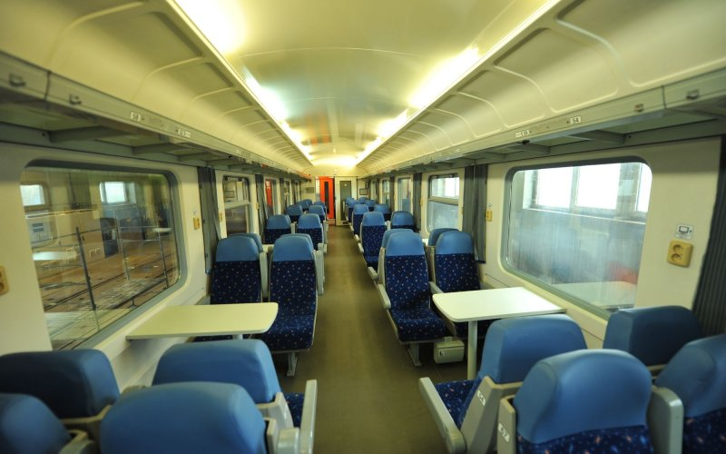 Train Reservations in Slovakia | All Reservations & Passes | Interior 2nd class Slovakia Intercity