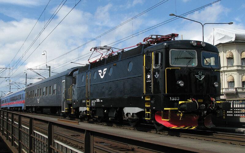 InterCity Zweden | Treinen in Zweden | Trein rijdt door Zweden
