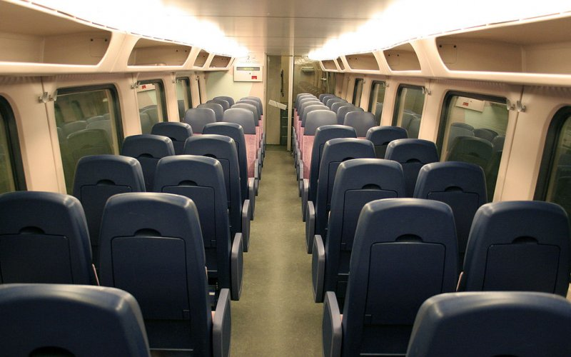 Second class seats Intercity - All train tickets and rail passes