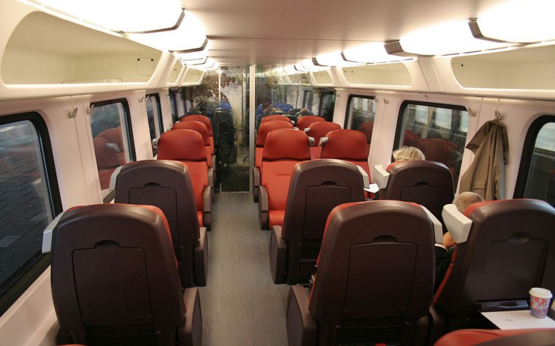 First class seat Intercity - All train tickets and rail passes