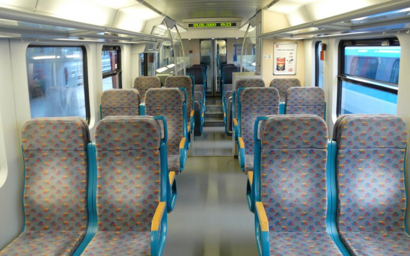 Train Reservations in Slovenia | All Reservations & Passes | 2nd class interior