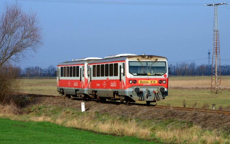 Regional Trains Hungary | Trains in Hungary | Train on its way through the country Hungary