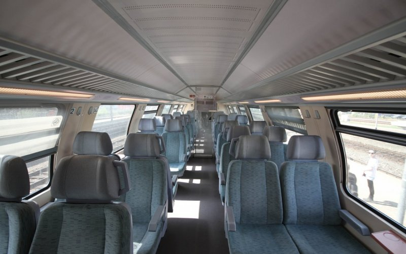 Interregio-Express Germany | Trains in Germany | 2nd class interior