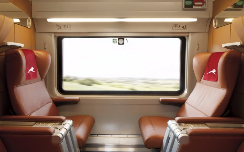 Italo | Trains in Italy | 1st class interior