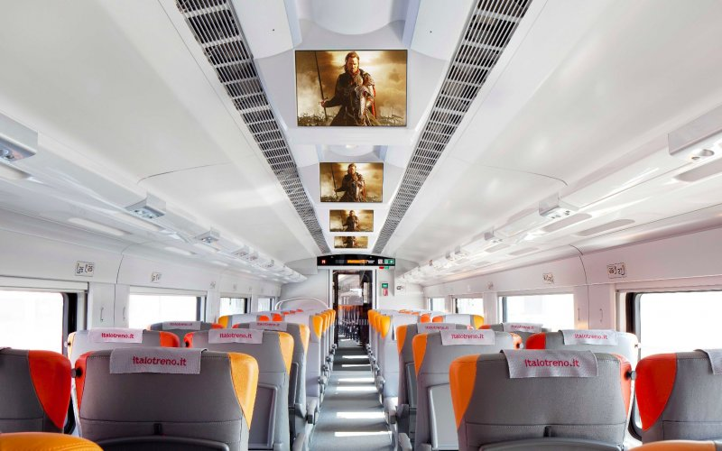 Italo Smart Cinema - Italy - Train tickets and rail pass