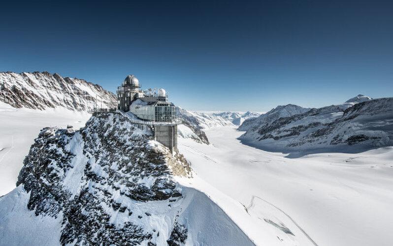 Jungfraujoch - Top van Europa - Zwitserse reispas