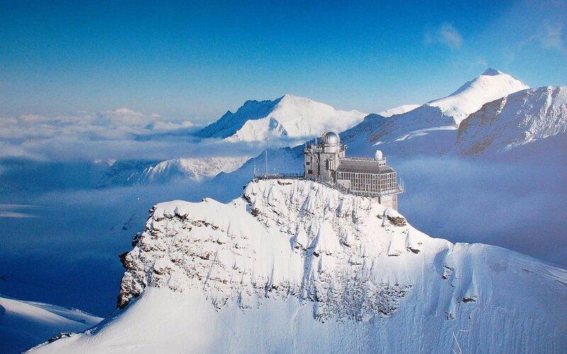 Jungfraujoch - Scenic railways Switzerland