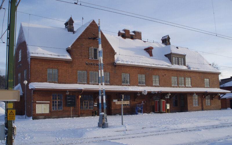 Trains to & from Kiruna | Kiruna Central Station