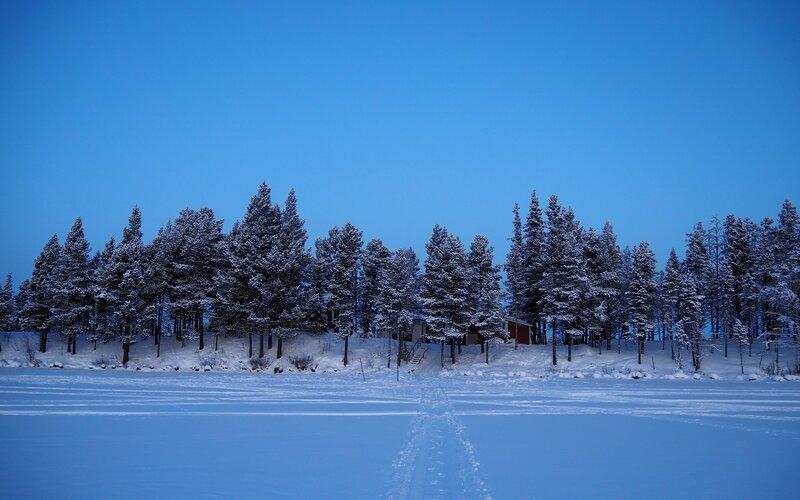 Trains to & from Kiruna | Winter in Kiruna