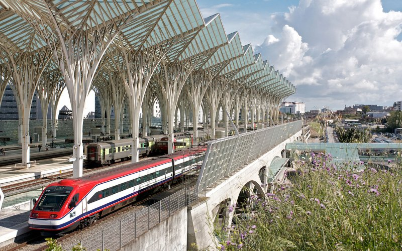 Arrive at Lisbon Oriente - All train tickets and rail passes