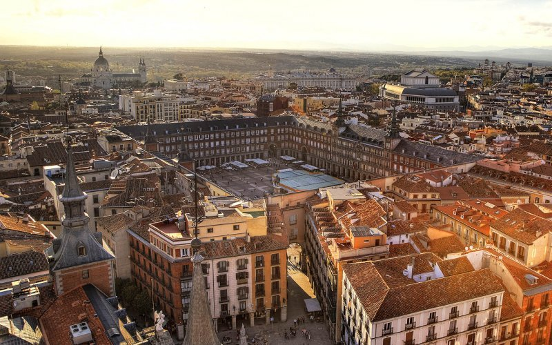 Book Your Eurail/Interrail Adventure at HappyRail | Trip Itineraries for Eurail | Madrid Square