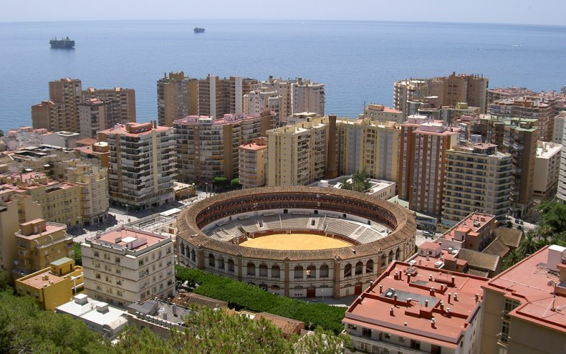 Trains to & from Malaga | Malaga city view