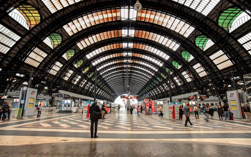 Arrive at Milano Centrale - All train tickets and rail passes