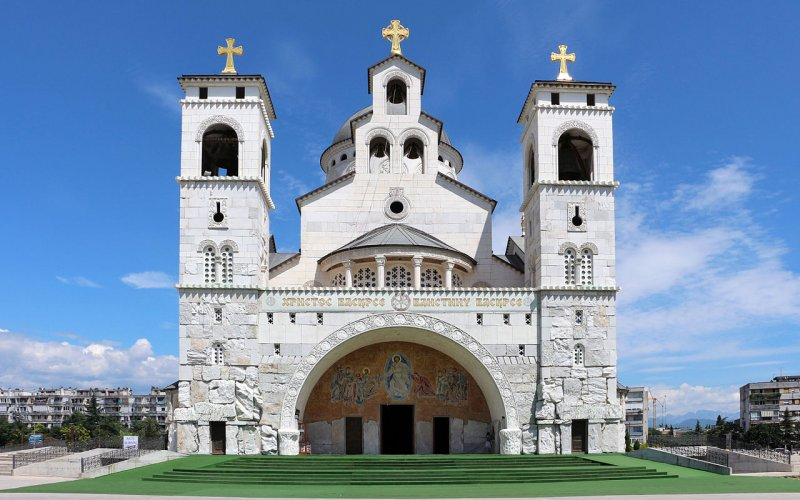 Discover Montenegro by train | Cathedral in Montenegro