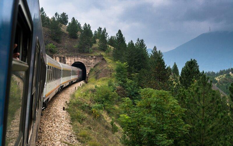 InterCity Montenegro | Trains in Montenegro | Tunnel in Montenegro