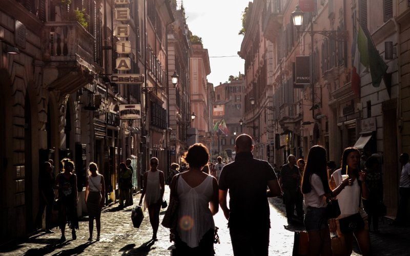 Book Your Eurail/Interrail Adventure at HappyRail | Trip Itineraries for Eurail | Naples streets sunset