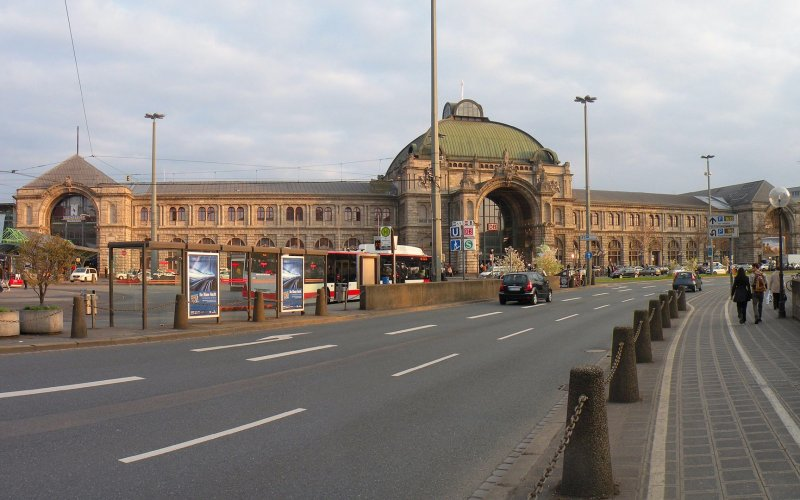 Cheap train tickets Nuremberg - Arrive at Nürnberg Hbf - All train tickets and rail passes