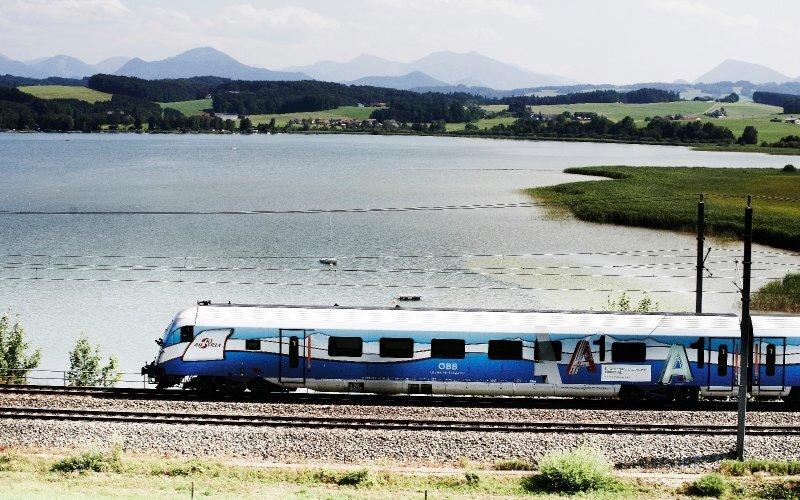 S-Bahn Austria | Trains in Austria | Train running to Bischofshofen