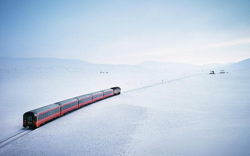 Treinkaartjes Noorwegen - Boek alle treinen in Noorwegen - NSB