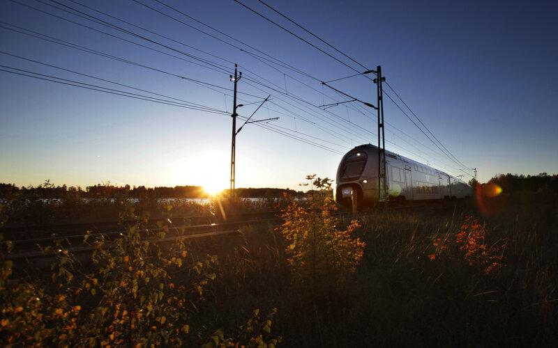 Treinen in Zweden