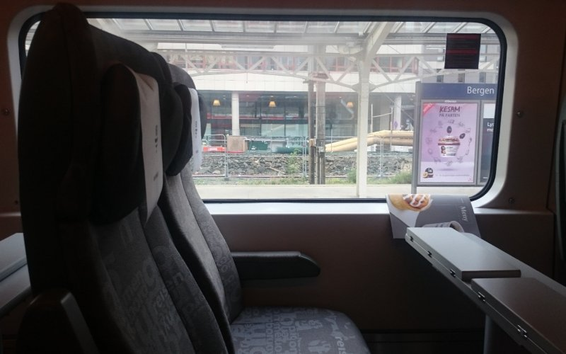 Train Reservations in Norway | All Reservations & Passes | Interior of the train NSB Regiontog Oslo to Bergen