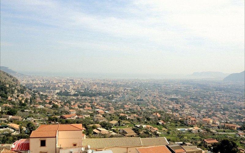 Trains to & from Palermo | Aerial view of Palermo
