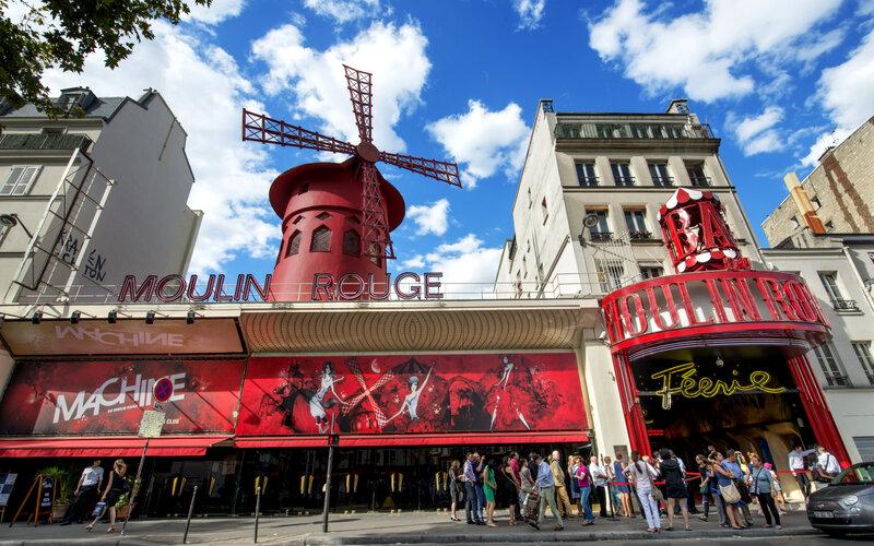 Book Your Eurail/Interrail Adventure at HappyRail | Trip Itineraries for Eurail | Paris Moulin Rouge