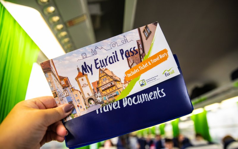 Eurail Pass - Cover