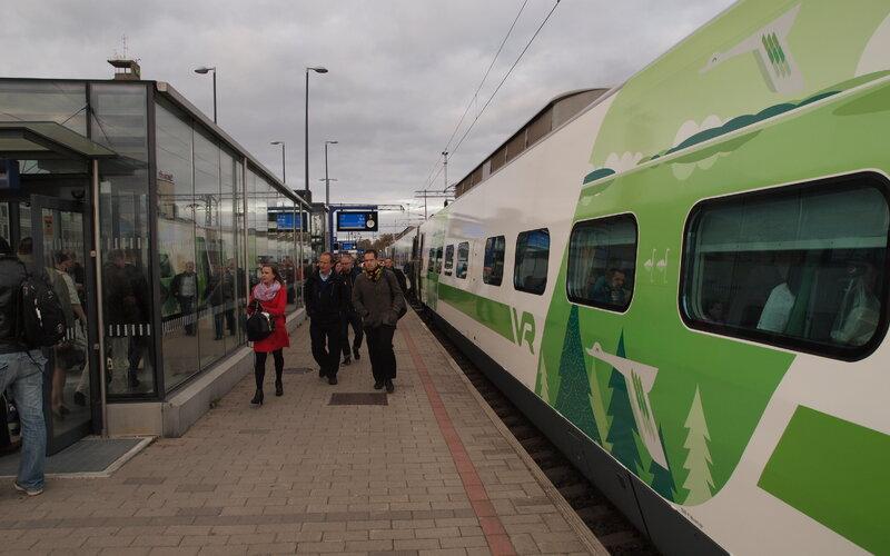Pendolino Finland | Trains in Finland | Tampere Railway Station