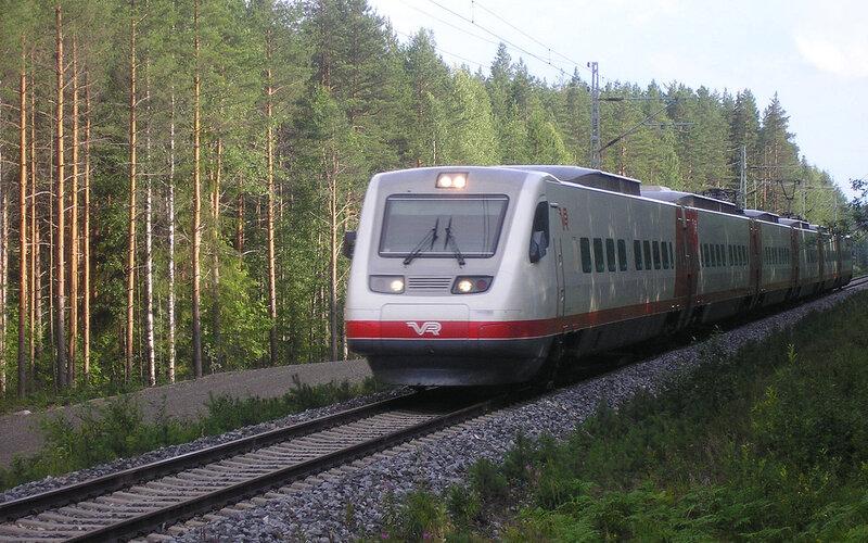 Pendolino Finland | Trains in Finland | Kitee Finland