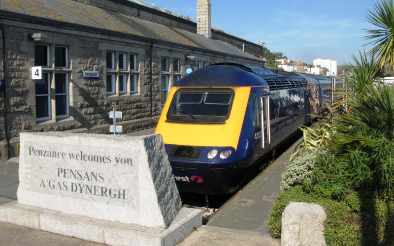 Visit Penzance by train - All train tickets and rail passes