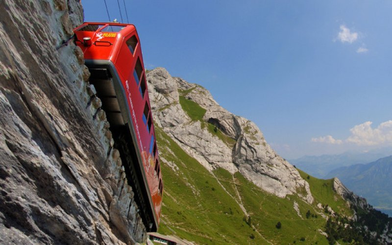 Pilatus Railways - Scenic train trips Switzerland  - Swiss Travel Pass