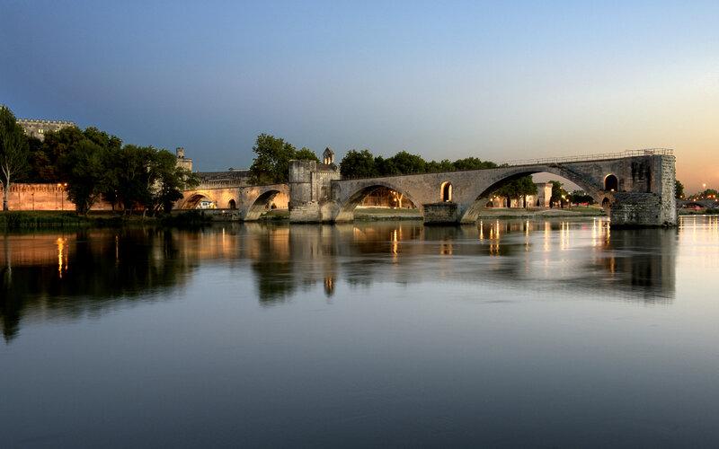 Eurail Pass - Pont d'Avignon