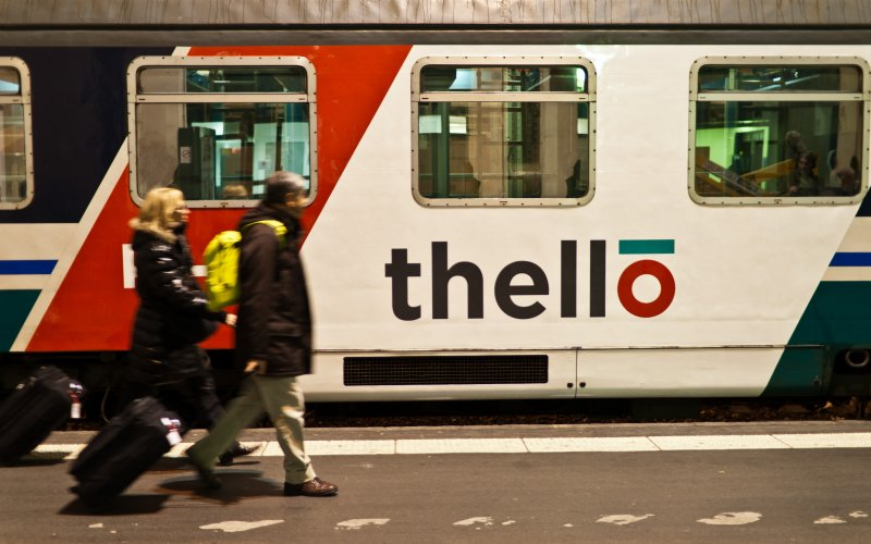 Thello | Trains in Europe | Ready for departure from Paris Gare de Lyon