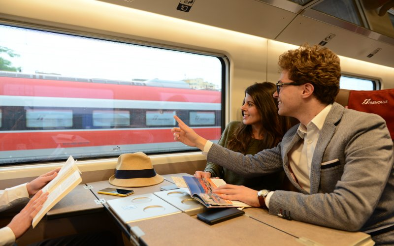Train Tickets Italy - Frecciarossa Premium Class