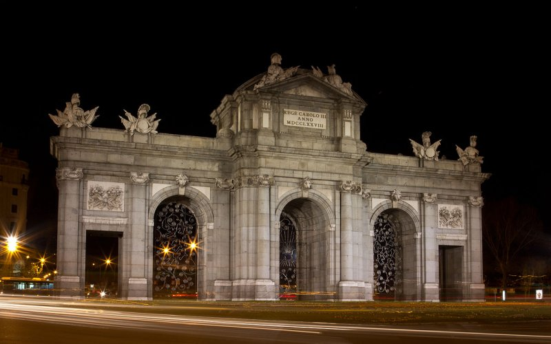 Get to see the Puerta de Alcalá - All train tickets and rail passes