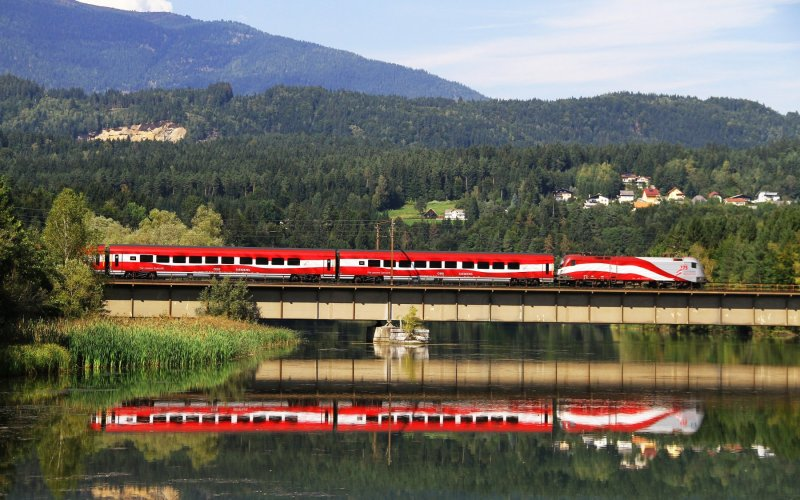 Train to Austria - All train tickets and rail passes