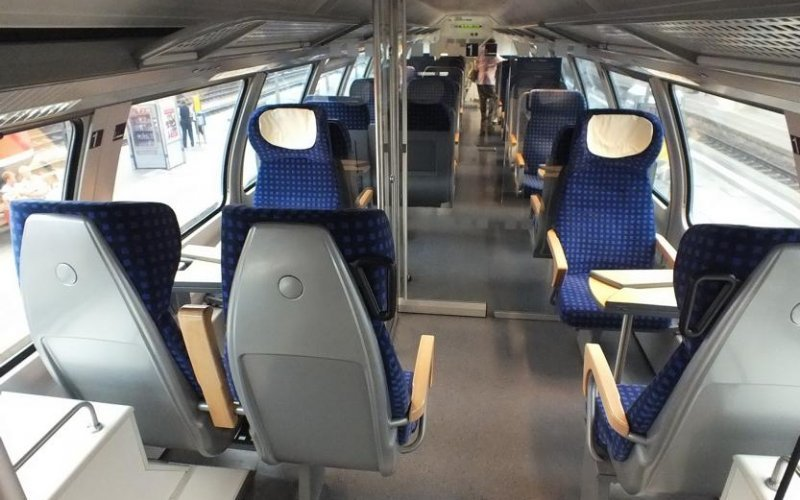 Regional Express Germany | Trains in Germany | Interior 1st class