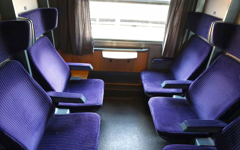Train Reservations in Romania | All Reservations & Passes | Interior 2nd class Regio Romania