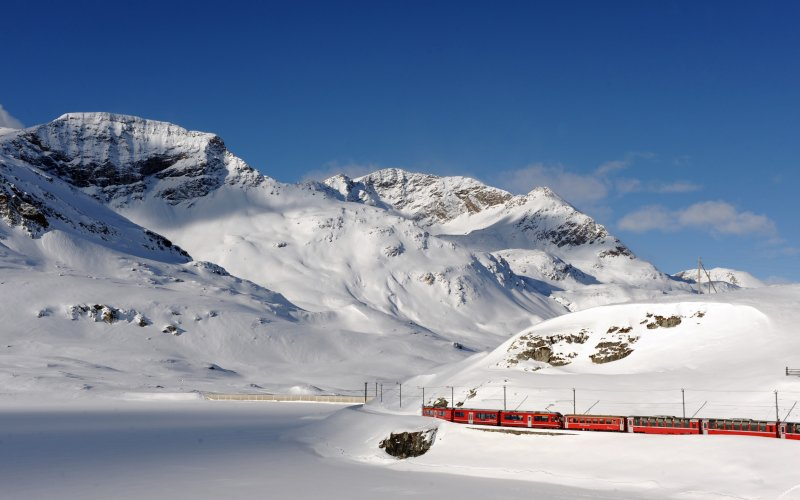 Swiss Travel Pass - Swiss train tickets for tourists winter