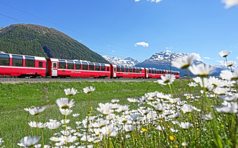 Cheap Train Tickets Switzerland - Bernina Express