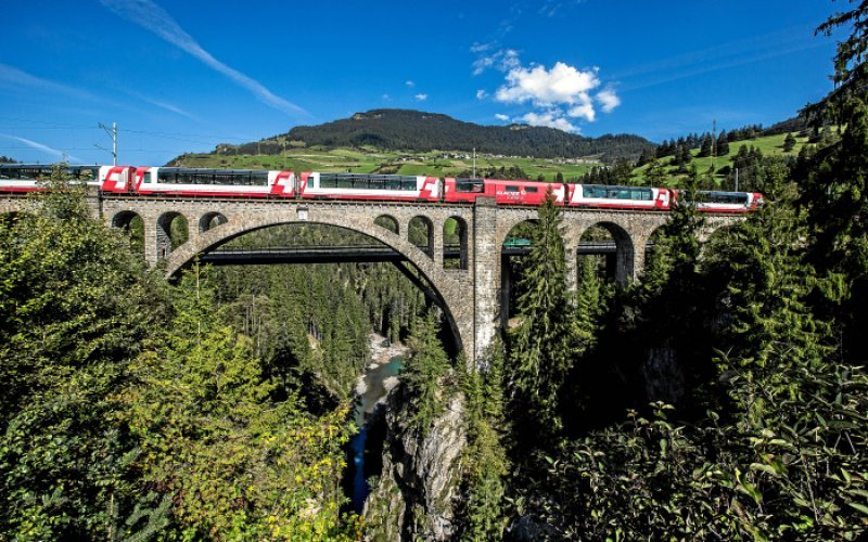 Cheap Train Tickets Switzerland - Glacier Express
