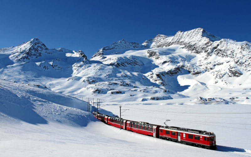 Bernina Express - Tmetable, Route, Map, Tickets - Swiss Travel Pass