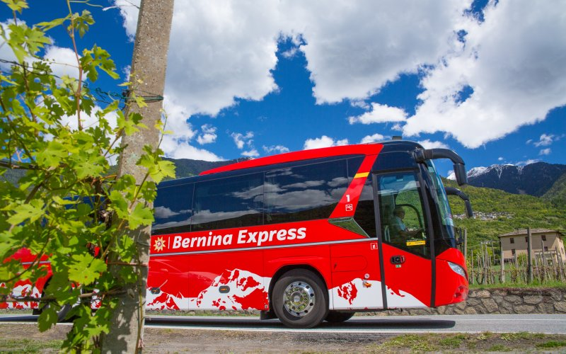 Buses - Swiss Travel Pass