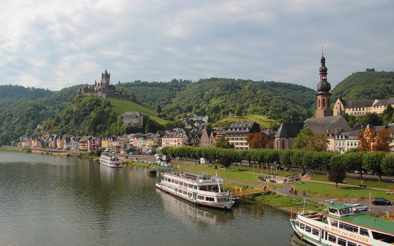 Rhine and Moselle by train | Cochem