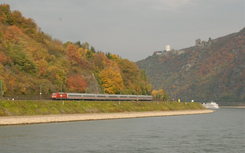 Travel on the Rhine Railway - All train tickets and rail passes