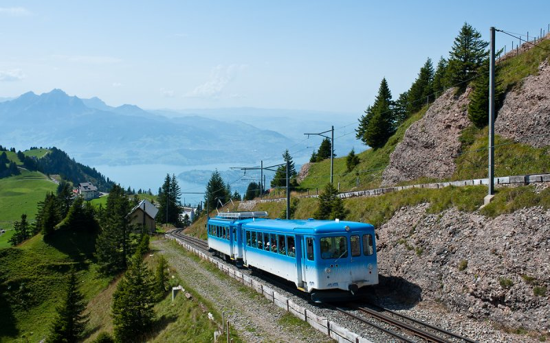 Rigi Kulm - Switzerland - Scenic trail routes